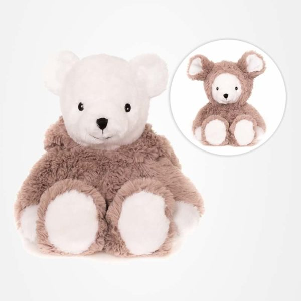 "Eingemummelt.de – Habibi-Plush – ""Mouse Bear"" – Art-Nr. 1822"